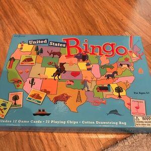 2/$10 Educational U.S. Bingo game Age 5+